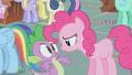 Pinkie Pie close to Spike S1E05