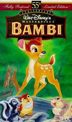 Bambi (1997 VHS)