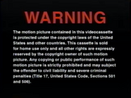 DreamWorks Home Entertainment Warning Screen (1997)
