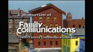 1990 Family Communications Logo