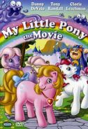 My Little Pony The Movie 2006 DVD