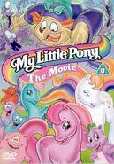 My Little Pony The Movie 2003 UK DVD