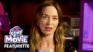 Behind the Scenes of the My Little Pony Movie Voice Actors
