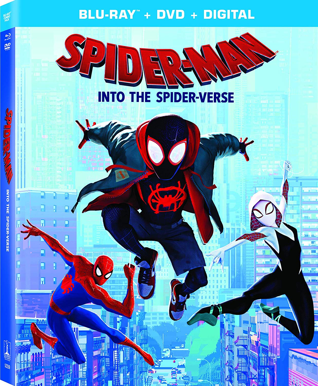 Spider-Man: Into the Spider-Verse (Blu-ray/DVD)
