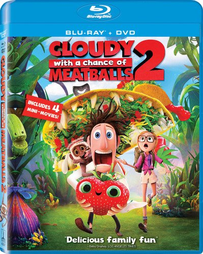 Cloudy with a Chance of Meatballs 2 (Blu-ray/DVD)