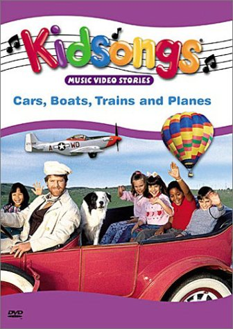 Kidsongs: Cars, Boats, Trains and Planes (video)