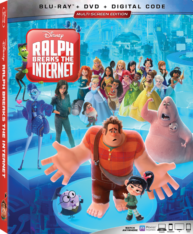 Ralph Breaks the Internet (Blu-ray/DVD)