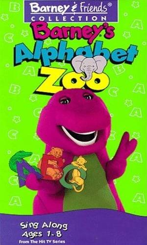 Barney's Alphabet Zoo (VHS)