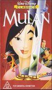 Mulan 1999 AustraliaVHS