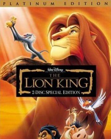 The Lion King Platinum Edition Twilight Sparkle S Retro Media Library Fandom
