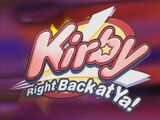 Kirby: Right Back at Ya! DVDs and Videos