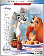 Lady and the Tramp 2018 Blu-ray