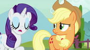 """Rarity """"it's just Strawberry's honest opinion"""" S7E9"""