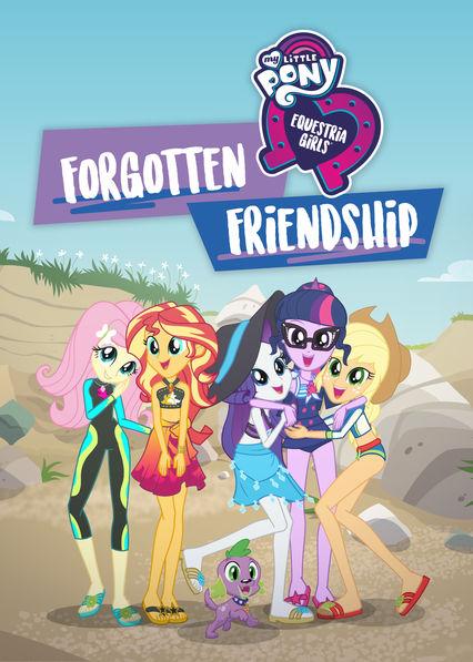 My Little Pony Equestria Girls: Forgotten Friendship (DVD)