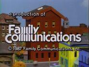 1987 Family Communications Logo