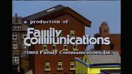 1992 Family Communications Logo