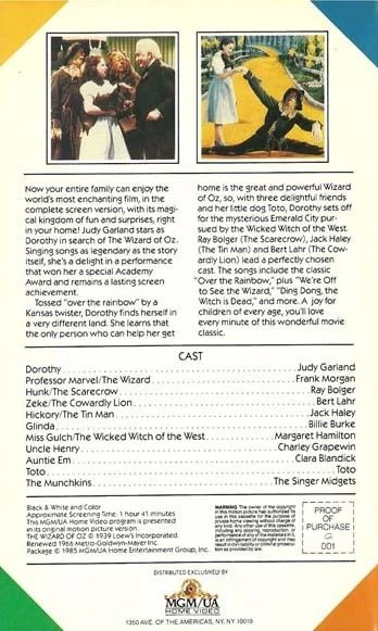 1985 The Wizard of Oz VHS Back Cover.png
