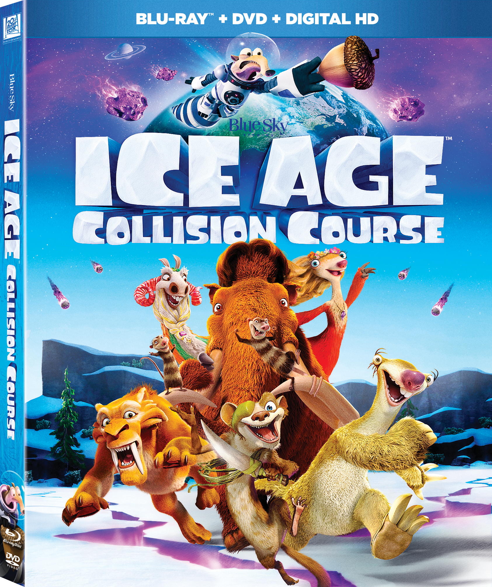 Ice Age: Collision Course (Blu-ray/DVD)