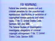 Light Blue FBI Warning (1993)