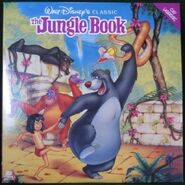 Junglebook 1991laserdisc