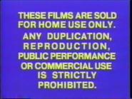 Part 1 of the 1979 Columbia Pictures Home Entertainment (CPHE) closing FBI warning screens.