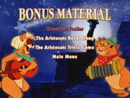 Aristocats bonusmaterial