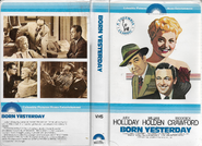 Born Yesterday (1950) 1979 VHS cover