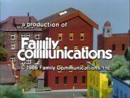 1986 Family Communications Logo