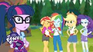 My Little Pony Equestria Girls - Legend of Everfree (Pt. 4) - 'A Gift for Future Campers'