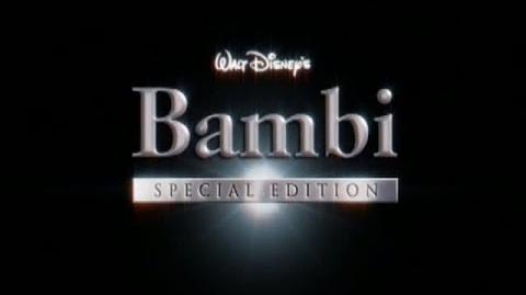 Bambi - Platinum Edition Trailer 1