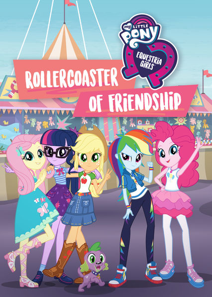 My Little Pony Equestria Girls: Rollercoaster of Friendship (DVD)