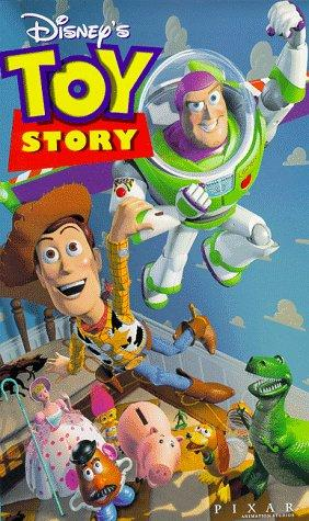 Home video timeline for the Toy Story series