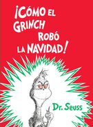 How the Grinch Stole Christmas Spanish Book Cover