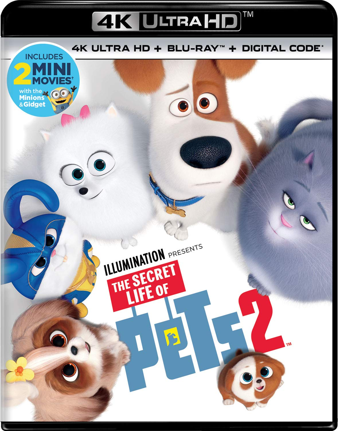 The Secret Life of Pets 2 (Blu-ray/DVD)