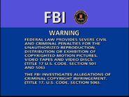 Sony R1 Warning Screen
