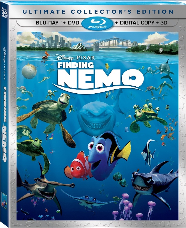 Home video timeline for Finding Nemo