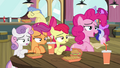 Pinkie Pie 'never mind, they're gone' S4E15