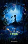 The Princess and the Frog 2009 Poster