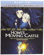 Howl's Moving Castle 2017 Blu-ray