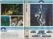 The Deep 1979 VHS Cover
