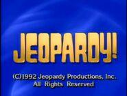 Jeopardy 1992