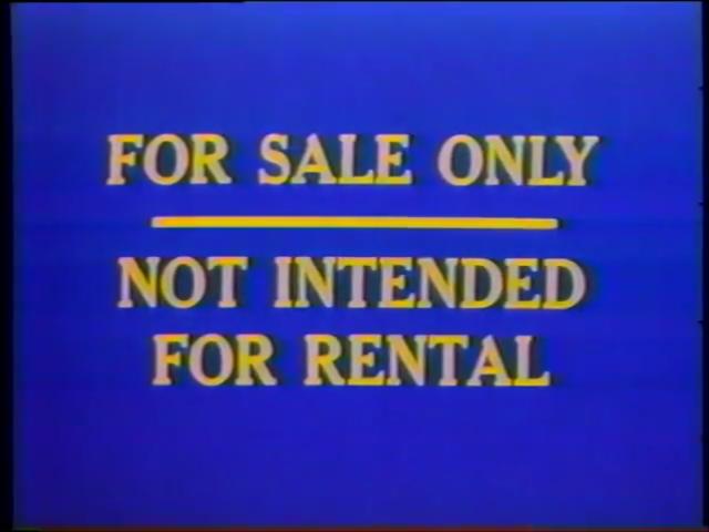 Dumbo (1981-1983 VHS)