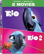Rio 2-Movie Collection 2017 Blu-ray