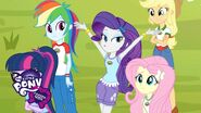 My Little Pony Equestria Girls - Legend of Everfree (Pt. 3) - 'First Day of Camp'