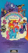 My Little Pony The Movie 1989 VHS