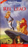 The Lion King VHS (Brazil)