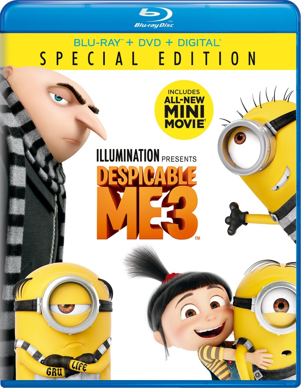 Despicable Me 3 (Blu-ray/DVD)