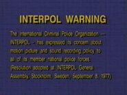Dark Blue Interpol Warning2 (1996)