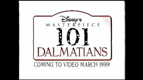 101 Dalmatians - 1999 VHS Trailer