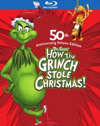 How the Grinch Stole Christmas 2015 Blu-ray